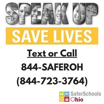 Safer Schools Ohio Tip Line