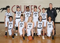 7th grade Girls Basketball Wins Title
